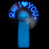 Heißer Verkaufs-Zoll leuchten dem LED-Miniventilator mit Firmenzeichen gedruckt (3509)