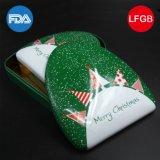 Navidad en forma de caja de hojalata para embalaje de caramelo (T003-V4)