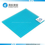 Qualität Doppel-Wand Polycarbonat-Blatt mit 10 Jahren Garantie-