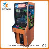 Macchina dritta classica del video del gioco della galleria di Kong dell'asino