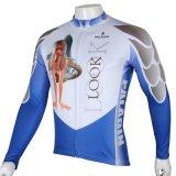 Голубым сделанная по образцу Mermaid куртка спортов покрывает Джерси людей задействуя