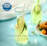 無鉛厚くされたガラスビン、フルーツジュースのびん、冷たい飲み物のびん、わらの飲み物のびん、ミルクびん