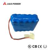 Pacchetto della batteria di litio dello ione del Li delle 18650 batterie per gli attrezzi a motore