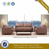 Sofá moderno do escritório do sofá do couro genuíno de mobília de escritório (HX-CF026)