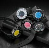 Yxl-425 содействие новой конструкции Break часы Мужчины Женщины повседневный спорта кожаные кварцевые часы с логотипом OEM на заказ Vogue Paidu смотреть на заводе