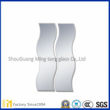 Espelho chanfrado com várias formas de espelho revestido da prata