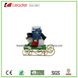 Supporto di candela decorativo del Figurine della Santa di natale di Polyresin per la decorazione domestica