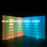 Parete gonfiabile chiara dell'aria del LED per la parete della tenda di mostra per la decorazione