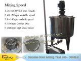 3000 litros S. S 316 Tanque mezclador Tanque mezclador de acero inoxidable
