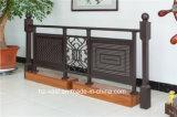 Barandilla de acero galvanizada decorativa de alta calidad 1 del balcón de la aleación de aluminio