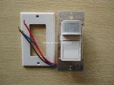 86 tipo interruttore del sensore di movimento del supporto PIR di rossoreare della parete