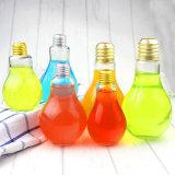 Пластмассовый сосуд в форме ламп питьевой выжмите сок из бутылочки