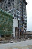 Grue d'ascenseur d'élévateur de câble métallique de construction