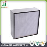 Глубокий Pleat с фильтром рамки HEPA воздуха сепаратора алюминиевым