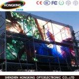 Visualización de LED al aire libre a todo color P6 de la venta caliente