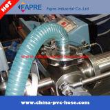 2017 Transparente de PVC flexible de la manguera de alambre de acero resorte plástico