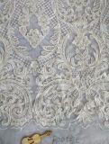 Ткань сетки вышивки для Bridal качества Hight платья вечера венчания