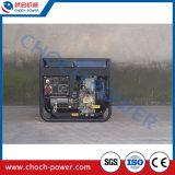 디젤 엔진 발전기 세트 휴대용 가정 사용 발전기 (DG6500LE-3)