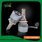 C6 COB Voitures Projecteur LED Projecteur LED auto moto