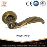 밝은 커피 아연 합금 문 기계설비 손잡이 자물쇠 (z6371-zr11)