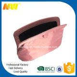 De roze Toiletry van de Reis van de Zak van het Leer van Pu Kosmetische Zak van de Opslag van de Zak van de Uitrusting van de Make-up