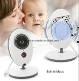 Ecrã LCD de 2,4 polegadas Vb605 Wireless Child Babysitter Câmara de vídeo digital 2way Talk Nightvision Temperature Display Nanny Baby Monitor