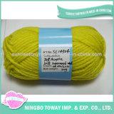 Filato di lana filato di lavoro a maglia lavabile operato Worsted del cachemire