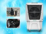 Umweltfreundliche bewegliche Verdampfungsluft-Kühlvorrichtung mit Drei-Seite abkühlenden Auflagen