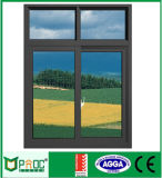 Wohnschiebendes Aluminiumfenster mit Gitter