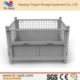 Клетка ячеистой сети промышленного складного хранения пакгауза стальная
