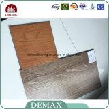 Plancher de vinyle du système PVC de cliquetis de Lvt