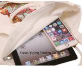 Long sac promotionnel personnalisé de coton de traitement