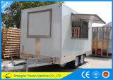 Cocina móvil de múltiples funciones Kebab móvil Van de Ys-Fv390b
