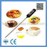 음식 온도계 육류 온도계 LCD 순간은 펜 모양 디지털 온도계를 읽었다