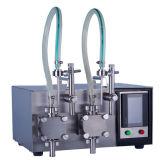 Machine d'étiquetage de machine à remplissage de capsules semi-automatique pour ligne d'emballage.