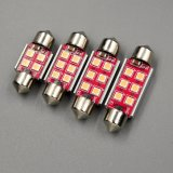 L'interiore delle lampadine LED della lampada di lettura di Viano il LED T10W5w 12V illumina l'indicatore luminoso automatico 36 del circuito di collegamento della lampada del festone 41mm C10W Sv8.5 Canbus di C5w 39 41mm