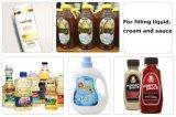 Máquina de relleno y que capsula para las botellas y la miel plástica/líquido de relleno de la máquina de rellenar/de la mantequilla de la miel/máquina de rellenar del petróleo de ensalada