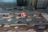 Perforado Globond chapa de aluminio con recubrimiento de polvo
