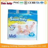 Frohe Baby-Baby-Windel, mittlere Größen-Baby-Windel, Fabrik-Windeln