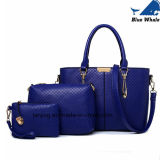 3 conjunto de PCS/Designer de couro Mala malas bolsas das mulheres