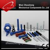 La norme ASTM A193 B7 Goujons filetés avec la norme ASTM A194 2h de lourdes les écrous hexagonaux