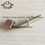 20241 encaixes de mangueira hidráulicos da manufatura métrica de China do cotovelo da fêmea 45