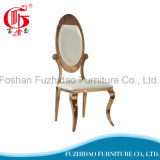 一流のホテルの家具の屋外のステンレス鋼の高貴な結婚式の椅子