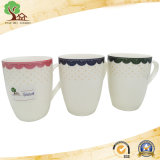 Tazza di ceramica di vendita calda personalizzata della decalcomania promozionale