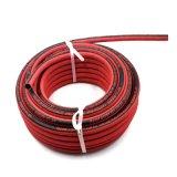1/4インチオゾン抵抗力がある赤いファイバーのブレードのゴム製エア・ホース