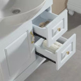Vanità della stanza da bagno di legno solido con il Governo laterale