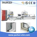 CNC van het aluminium de Automatische Dubbele HoofdMachine van de Zaag van het Knipsel