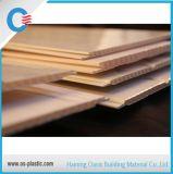 Panneau élevé de PVC de dureté