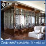 Customized Hairline Rose Gold Red Wine Display Cabinet Wine Cellar