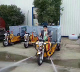De mini Economische Vrachtwagen Met drie wielen van de Sproeier van het Water van de Hoge druk voor Verkoop
